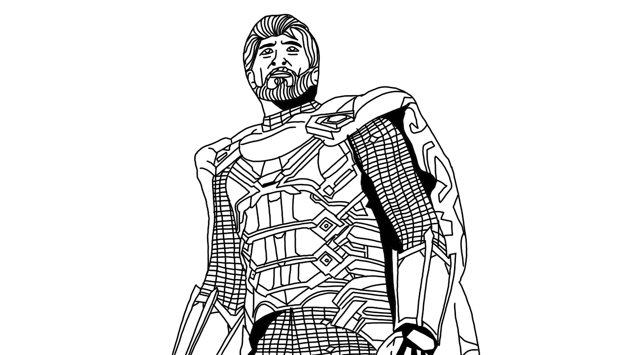 mysterio spiderman coloring pages - photo#15