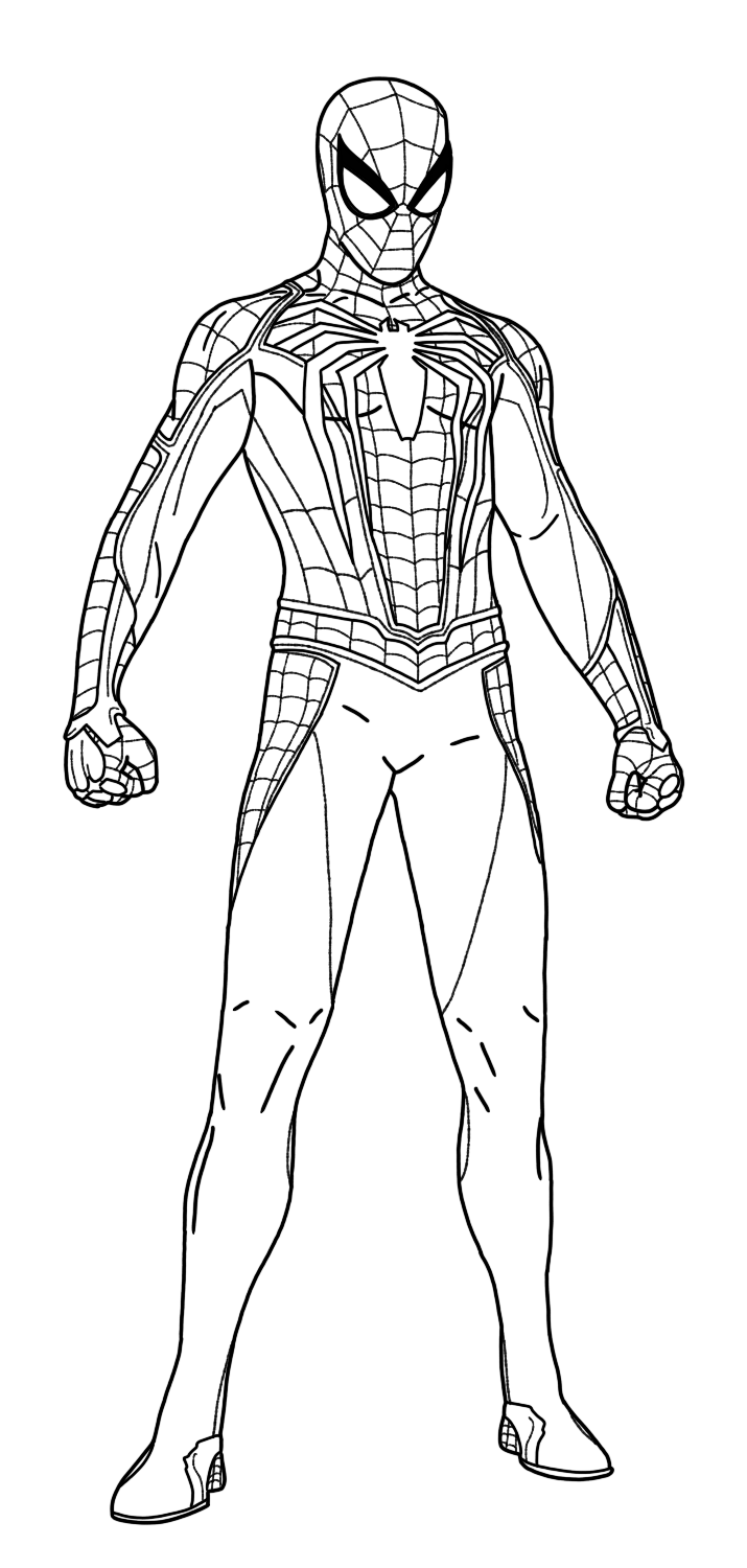 Spider Man | Superhero Coloring Pages