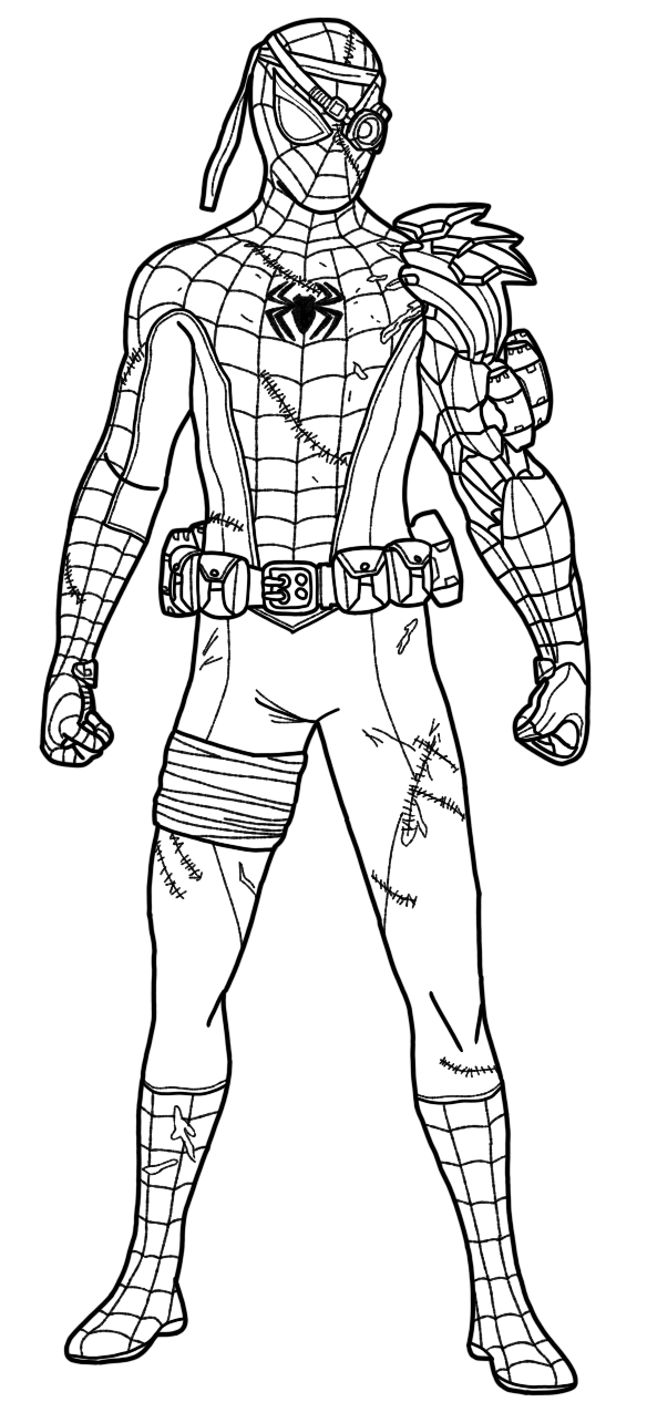 Superhero Coloring Pages | A place where you can find ...