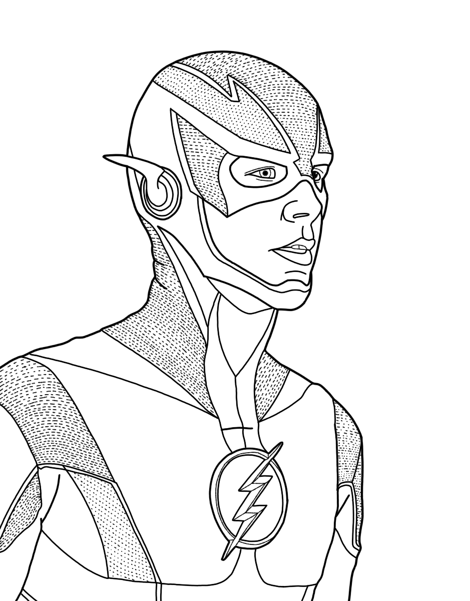 Superhero Coloring Pages A Place Where You Can Find